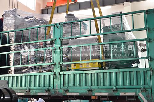 一台500kw,800kw乾能配上海斯坦福机组发货吉林